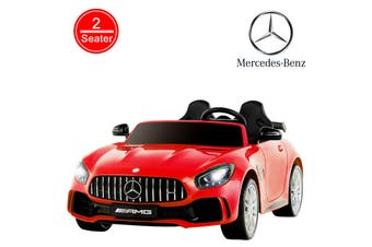 Advwin Kids Ride on Electric Toys Car Mercedes-Benz AMG GTR 12V Motor w/Battery RC