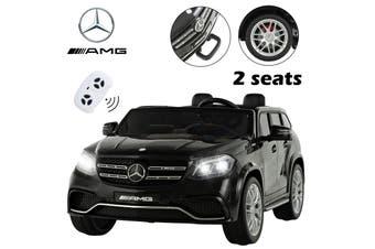 Advwin 12V Mercedes-Benz AMG SL65 Ride On Car Safety Lock Spring Suspension LED Black