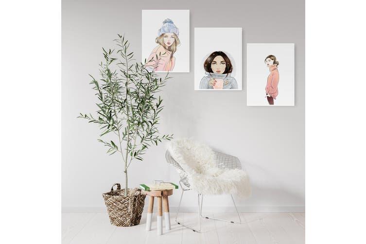 Set of Cute Girl Wall Art