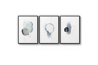 Set of Abstract Shape Wall Art