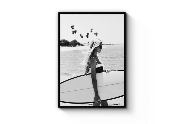 Surfer Girl Wall Art