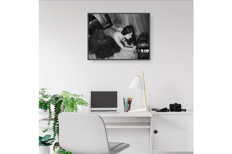 Black and White Girl Wall Art