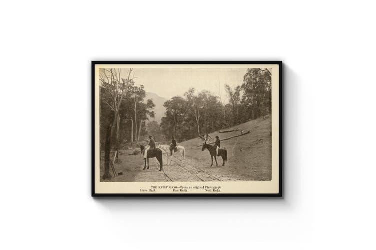 The Kelly Gang - Vintage Photograph Wall Art