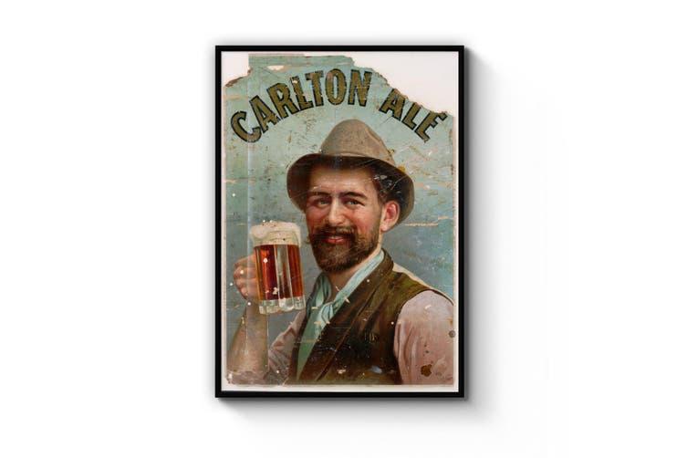 Vintage Carlton Draught Advert Wall Art
