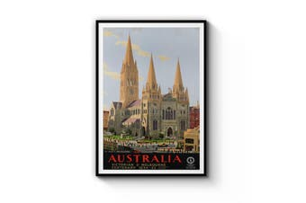 St Paul's Cathedral, Melbourne Wall Art
