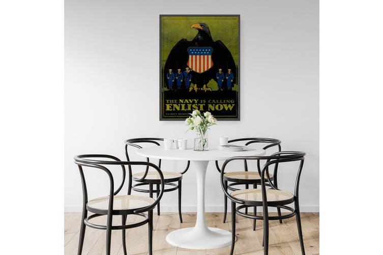 US Navy Enlist Now Advert Wall Art