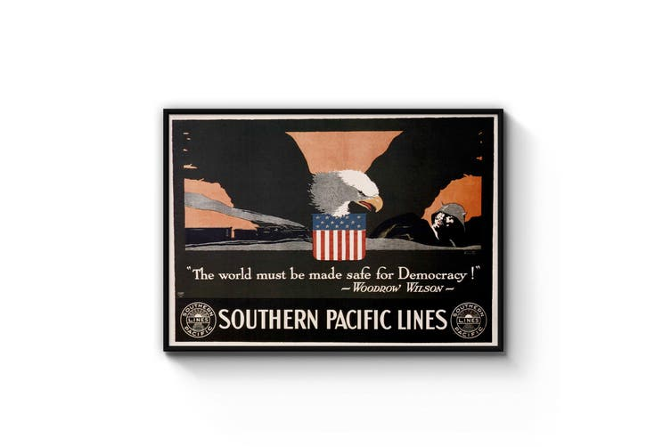 Southern Pacific Lines Advert Wall Art