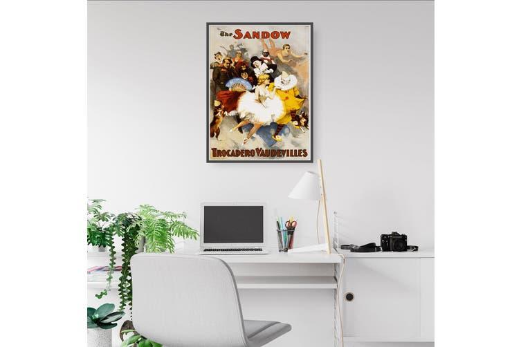 The Sandow Trocadero Advert Wall Art