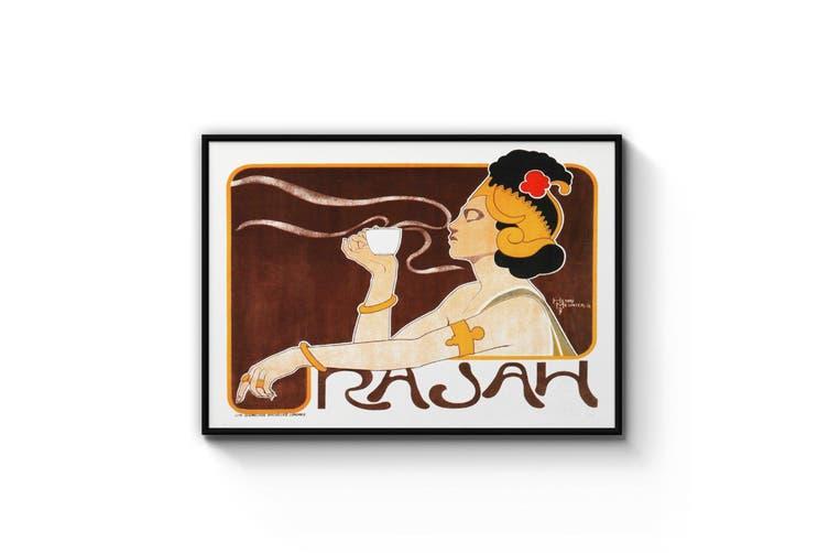 Rajah Coffee Advert Wall Art