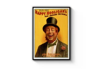 Happy Hooligan Irish Advert Wall Art