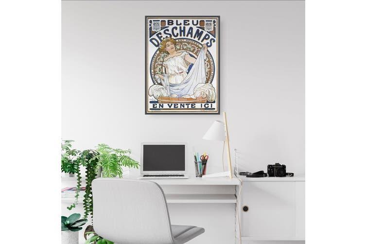 Bleu Deschamps French Vintage Advert Wall Art