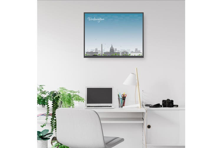 Washington DC City Cityscape Wall Art