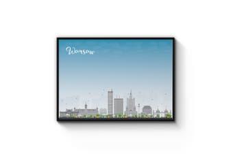 Warsaw City Cityscape Wall Art