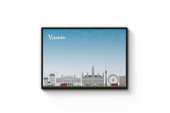 Vienna City Cityscape Wall Art