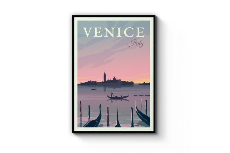 Retro Venice Wall Art