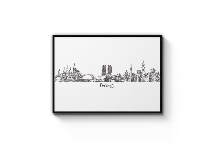 Toronto Drawing Wall Art