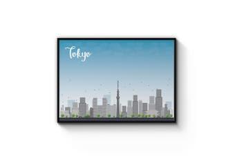 Tokyo City Cityscape Wall Art