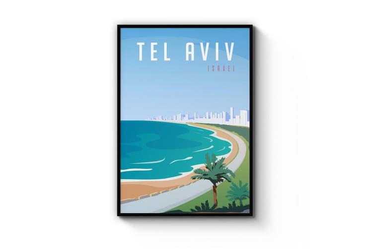 Retro Tel Aviv Wall Art