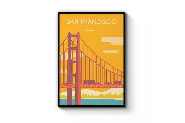 Retro San Francisco Wall Art