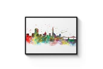 San Francisco Drawing Wall Art