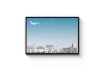 Rome City Cityscape Wall Art