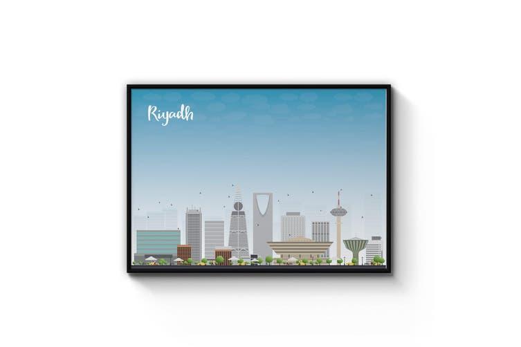 Riyadh City Cityscape Wall Art