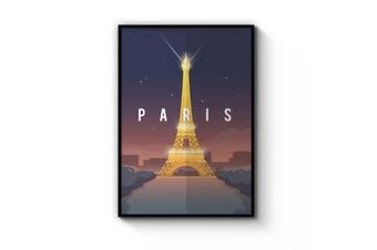 Retro Paris Wall Art