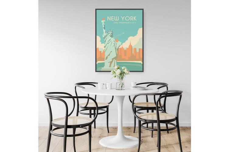 Retro New York Wall Art