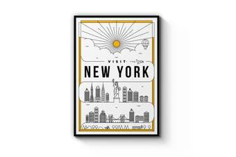 Minimal New York Wall Art