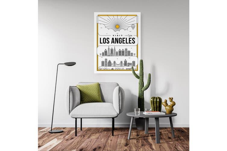 Minimal Los Angeles Wall Art