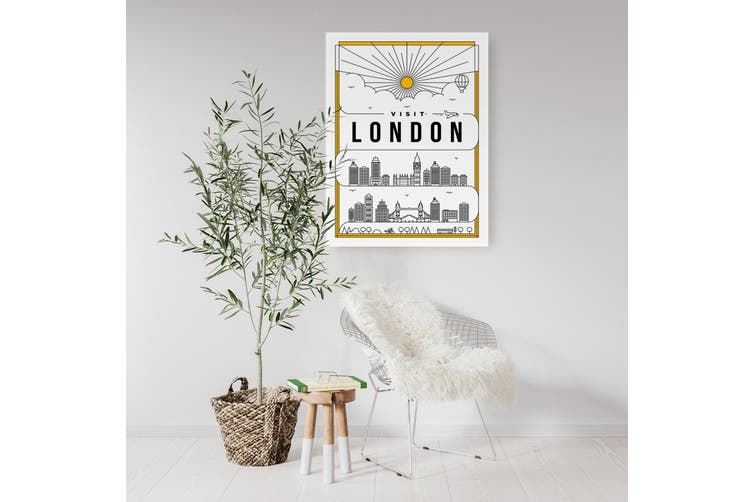 Minimal London Wall Art