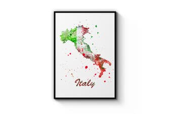 Italian Map Wall Art