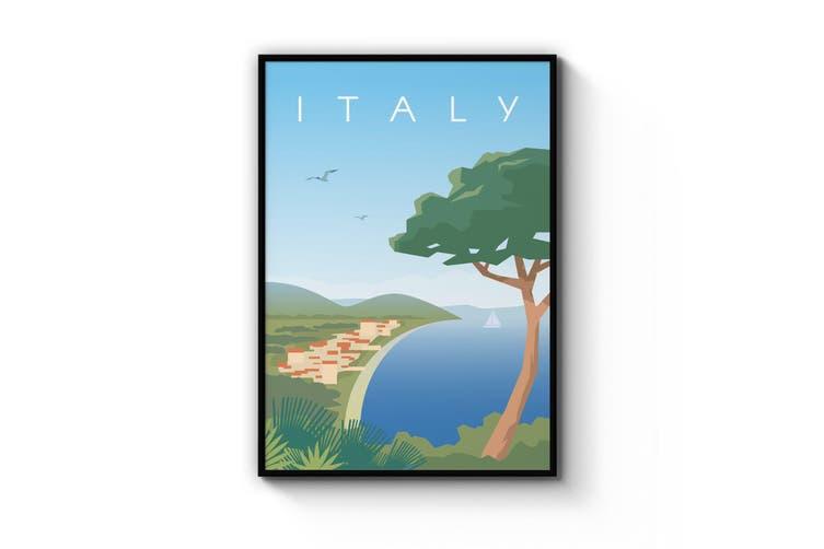 Retro Italy European Travel Vintage Wall Art