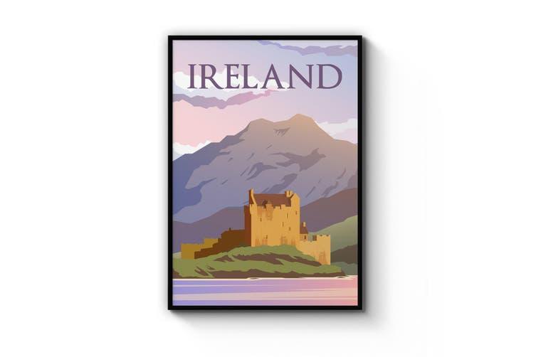 Retro Ireland Wall Art