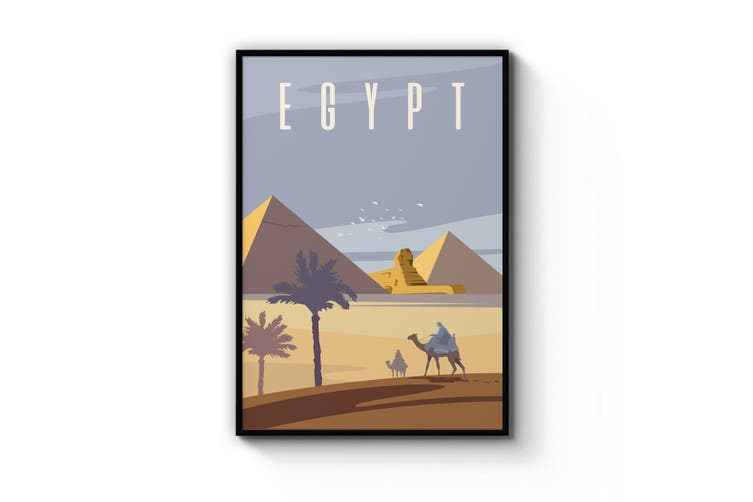 Retro Egypt Wall Art
