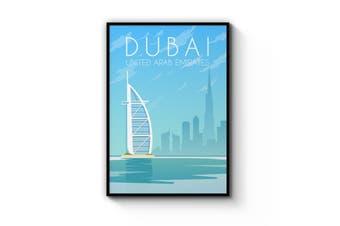 Retro Dubai Wall Art