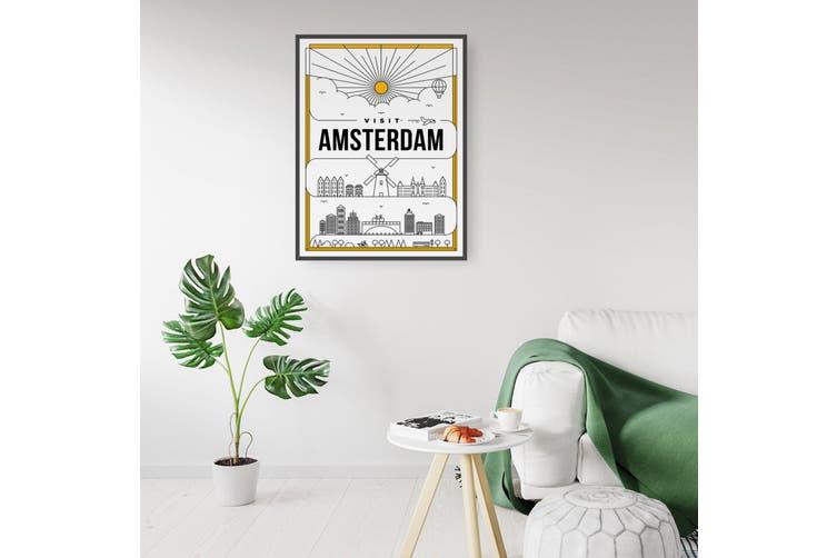 Minimal Amsterdam Wall Art