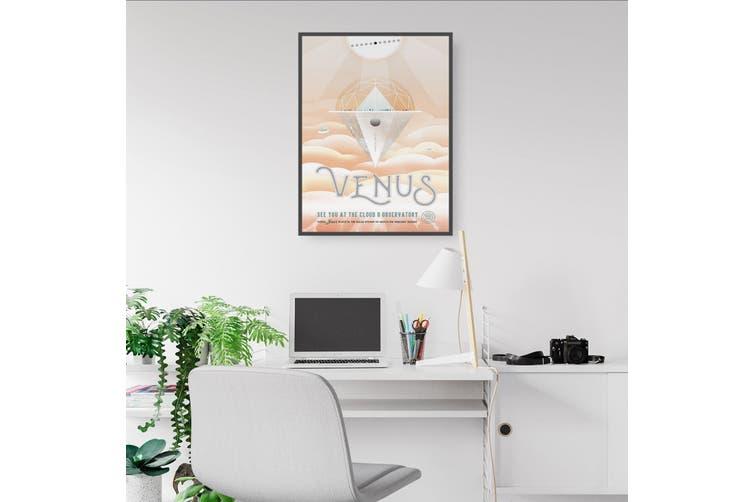 Retro Venus Space Wall Art