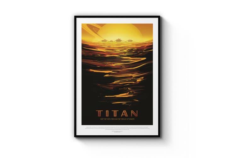 Retro Titan Wall Art