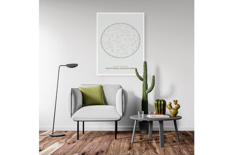 Northern Hemisphere Star Constellation Wall Art