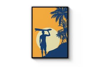 Retro Summer Surf Wall Art