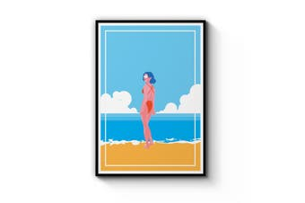 Retro Beach Wall Art