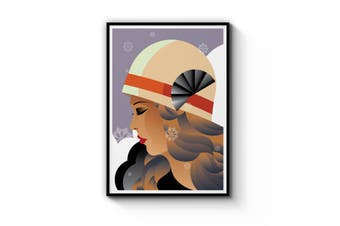 Art Deco Fashion Wall Art