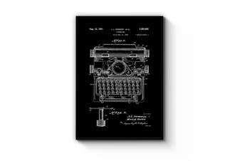 Typewriter Patent Wall Art