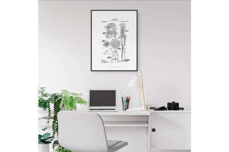 Rocket Patent Wall Art