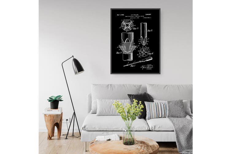 Phillips Screwdriver Patent Wall Art