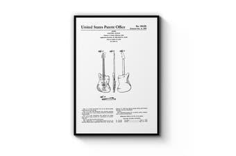 Guitar Patent Wall Art