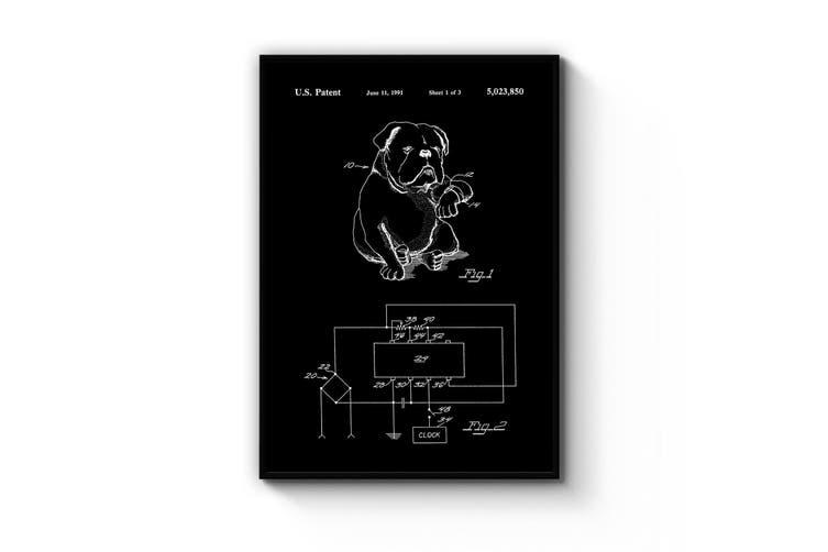 Dog Watch Patent Wall Art