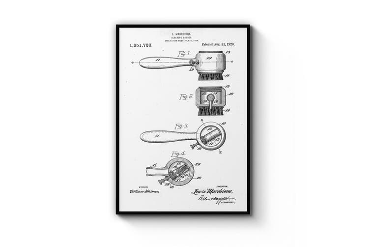 Shoe Repair Patent Wall Art