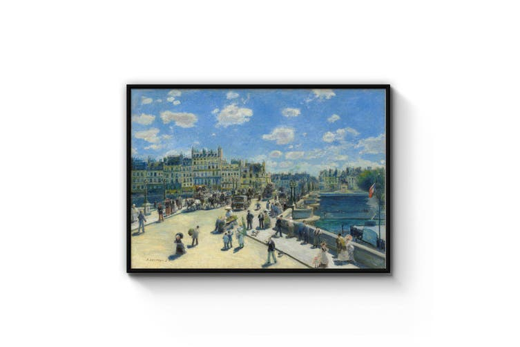 Pont Neuf, Renoir Famous Painting Wall Art